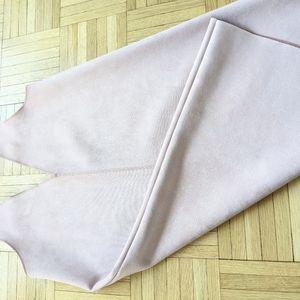 Pink suede Zara dress